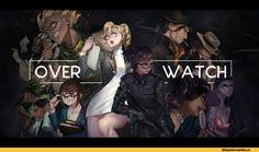 Junkrat,Overwatch,Blizzard,Blizzard Entertainment,фэндомы,Hanzo,Lucio,McCree,Mei (Overwatch),Mercy (Overwatch),Pharah,Sombra (Overwatch),Roadhog,Widowmaker,Symmetra,Overwatch art,sai ichirou