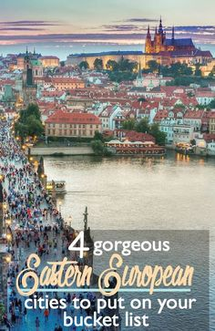 4 Gorgeous Eastern European Cities to Put on Your Bucket List | http://CosmosMariners.com