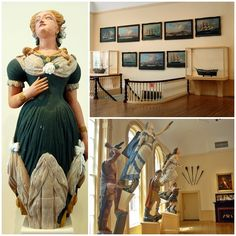 maritime museum figureheads | Historic Downtown Salem | Art, Architecture, and Attractions -- Yankee ...