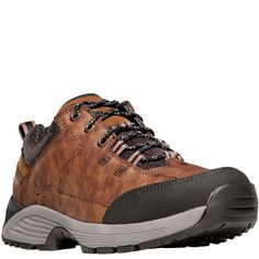 31014 Danner Men's Zigzag Trail Low Hiking Boots - Brown