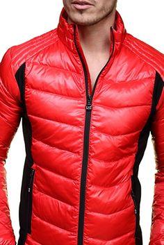 Emporio Armani Men's Jacket - red - S