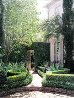 Landscape Architect:  Danny McNair.  The most beautiful garden gate wall and doorway. My favorite.
