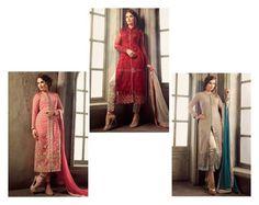 """Gorgeous Embroidered Pakistani Dresses Salwar Kameezz"" by designersandyou ❤ liked on Polyvore"