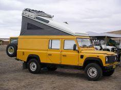 Land Rover Defender 130 camper