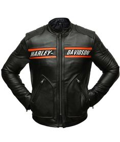 Get the funky style by wearing an astonishing Cafe Racer Jacket inspired by Goldberg the WWE champion with the Harley Davidson written on the front and back of the jacket. Grab Now! Cafe Racer Leather Jacket, Cafe Racer Jacket, Black Leather Motorcycle Jacket, Biker Leather, Real Leather, Lambskin Leather, Cowhide Leather, Cow Leather, Harley Davidson Leather Jackets