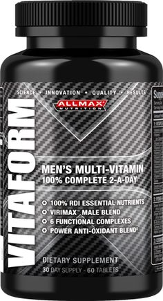 Special Offers Available Click Image Above: Allmax Nutrition Vitaform - 60 Tablets Weight Lifting Supplements, Best Muscle Building Supplements, Fat Burning Supplements, Best Bodybuilding Supplements, Best Supplements, Female Bodybuilding, Fitness Nutrition, Fitness Tips, Build Muscle Mass