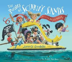 The Pirates of Scurvy Sands by Jonny Duddle Penguin Books, Sands, Penguins, Arts And Crafts, Ocean, Colouring, Movie Posters, House Ideas, Products