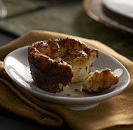 Individual Savory Horseradish Bread Puddings