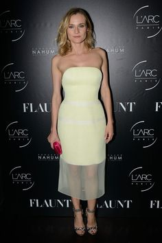 "dailyactress: "" Diane Kruger – Flaunt Magazine Party in Paris – October 2014 """