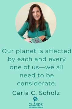 Meet Carla Scholz, Single Mom and Inventor of CLARDS - reusable greeting cards that clean up (literally) and find out how you can pledge your support on Kickstarter.
