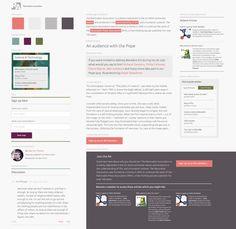 EXAMPLE: Mr & Mrs OK #design #styletiles #web #responsive #RWD