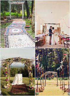 Lovely Inspiration: 10 Ideen für eine Hippie-Hochzeit | Oh Lovely Life