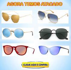 fca63e863 Temos óculos de sol Ray ban Aviador, hexagonal, justin, chris, clubmaster,