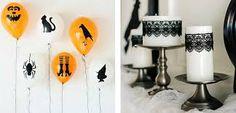 Ideas de decoración para Halloween. Cómo decorar la casa en Halloween. DIY Halloween, manualidades. Fáciles y rápidas para niños y para adultos. Comida, decoración, hogar, cómo decorar la mesa en Halloween. Ideas para una fiesta de Halloween.