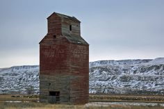 Abandoned grain silo, Dorothy, Alberta by Timothy Neesam (GumshoePhotos), via Flickr