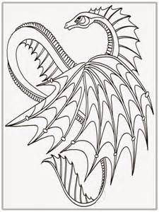 Chinese Dragon Adult Coloring Pages