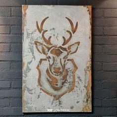 Christmas Inspiration, Stencils, Moose Art, Abstract, Diy, Handmade, Animals, Winter, Ideas