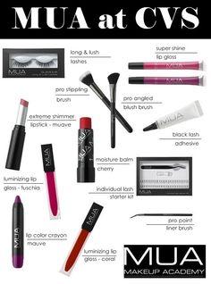 MUA Makeup Academy Now Available At CVS