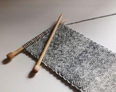 Herringbone Knit Scarf by Originally Lovely by Kaitlin Blasing ~ FREE pattern