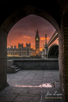Big Ben Sunset by Jim Lopes on 500px
