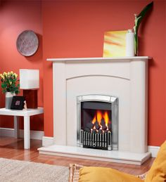 Caress Contemporary Inset Gas Fire, From Flavel