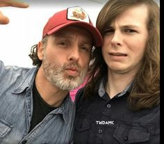 Andy and Chandler