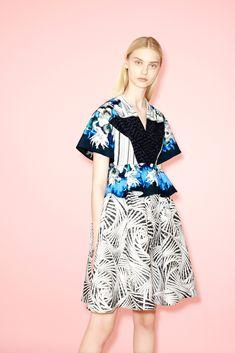 Peter Pilotto Resort 2014 Fashion Show - Nastya Kusakina