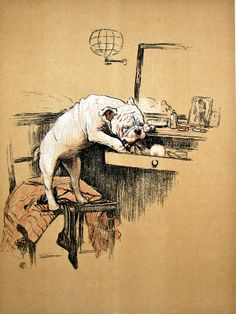 Another illustration from A gay dog by Cecil Aldin