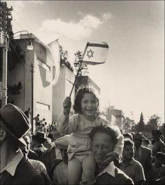 L'indépendance d'Israël, Haifa, 14 mai 1948