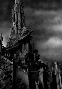 """The Tower of Barad Dur in Mordor the seat of Sauron """"the black tower"""" in the black speech i think Fellowship Of The Ring, Lord Of The Rings, Sci Fi Fantasy, Fantasy World, Barad Dur, Midle Earth, Alexander Kent, Dark Power, Into The West"""
