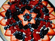 4th of July Fruit Pizza!