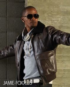 Jamie Foxx - there's something about this man!