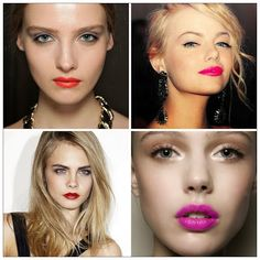 What's your favourite colour?!  Bright Lips