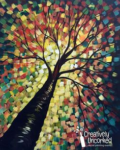 40 Easy Acrylic Painting Ideas on Canvas Cartoon District paintingsubjects p 40 Easy Acrylic Paint&; 40 Easy Acrylic Painting Ideas on Canvas Cartoon District paintingsubjects p 40 Easy Acrylic Paint&; Easy Canvas Painting, Simple Acrylic Paintings, Cool Paintings, Acrylic Painting Canvas, Canvas Art, Fall Canvas, Tree Paintings, Canvas Paintings, Paint And Sip