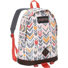 JanSport Beatnik (Coral Dusk Chevrons - Expressions) ** See this great product. (This is an Amazon Affiliate link and I receive a commission for the sales)