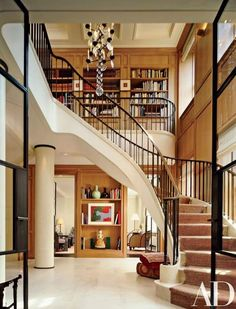 This Fifth Avenue duplex boasts a kitchen to make Julia Child swoon and a stairway sweeping enough for Loretta Young: http://archdg.co/j3zrcba