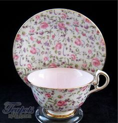 Salisbury Du Barry Rose Chintz Tea Cup
