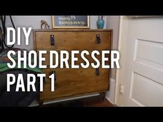 Today I'll be walking you through my latest project - a shoe dresser! It was a pretty big project, so I split it into two videos. This week will be the gener...
