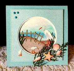 Beach Scene by DJRants - Cards and Paper Crafts at Splitcoaststampers