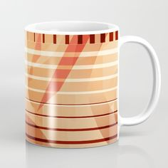 Buy Patternmix Retro orange brown Mug by Christine baessler. Worldwide shipping available at Society6.com. Just one of millions of high quality products available.