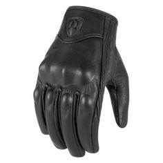 Motorcycle Gloves Black Leather, XS Hard Knuckle Touch Screen Gloves Motorcycle Gloves Motorbike ATV Riding Full Finger Gloves for Men.