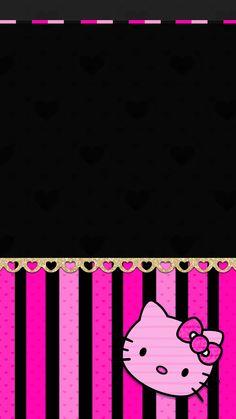 Hello Kitty Backgrounds, Hello Kitty Wallpaper, Best Iphone Wallpapers, Pretty Wallpapers, Art Sayings, Art Quotes, Melody Hello Kitty, Hello Kitty Pictures, Cellphone Wallpaper