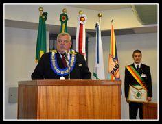 RITO    BRASILEIRO   DE MAÇONS ANTIGOS LIVRES E ACEITOS - MM.´.AA.´.LL.´.AA.´.: Eminente Irmão Evandro Lecey assume a presidência ...