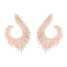 Handcrafted rose gold flame hoop earrings from Latelita London. Stunning fashion jewellery at Explore unique handcrafted designer jewellery on JewelStreet. Rose Gold Pink, Star Necklace, Baroque Pearls, Semi Precious Gemstones, Jewelry Branding, Beautiful Earrings, Rose Gold Plates, Statement Jewelry, Bridal Jewelry