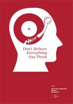 Non credere a tutto quello che pensi