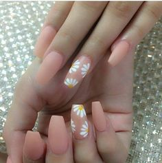 Got my nails done like this last week and I love it. Are you looking for coffin acrylic summer nail designs? See our collection full of coffin acrylic nail designs for summer and get inspired! Summer Acrylic Nails, Best Acrylic Nails, Acrylic Nail Designs, Spring Nails, Nail Swag, Perfect Nails, Gorgeous Nails, Sunflower Nails, Fire Nails
