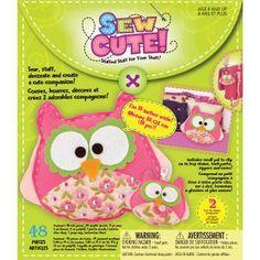 Owl Sew Cute! Felt Kit - Owl