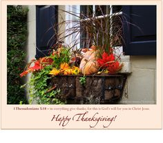 1 Thessalonians 5:18 - Give Thanks