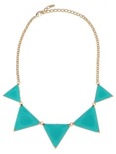 Bauble Bar Azure Triad Collar Necklace #thevoice