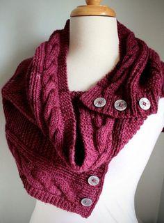 Jindabyne Cowl - PDF Knitting Pattern by Brian Martel